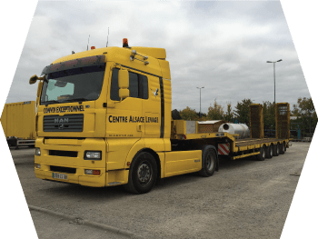 transport long camion